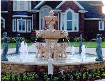 Outdoor Fountain from Vancouver Landscape Design